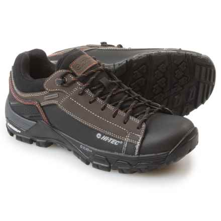 Hi-Tec Trail Ox Low I Hiking Shoes - Waterproof (For Men) in Chocolate/Burnt Orange - Closeouts