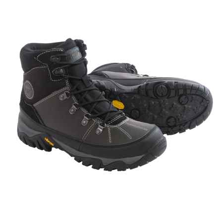 Hi-Tec Trooper Shield 200 Snow Boots - Waterproof, Insulated (For Men) in Black - Closeouts