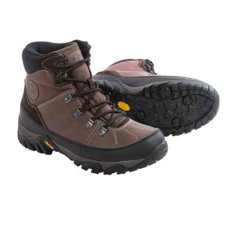 Hi-Tec Trooper Shield 200 Snow Boots - Waterproof, Insulated (For Men) in Chocolate/Black - Closeouts