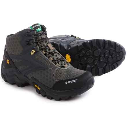 Hi-Tec V-LITE Flash Fast Hike Hiking Boots - Waterproof (For Men) in Smokey Brown/Core Gold - Closeouts