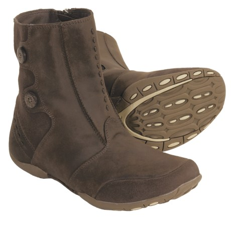 Hi-Tec V-Lite Hatha Quick Zip 200i Winter Boots - Waterproof, Insulated (For Women) in Dark Chocolate/Sable