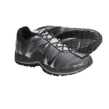 Hi-Tec V-Lite Infinity Trail Running Shoes - eVent® Waterproof (For Men) in Black/Silver - Closeouts