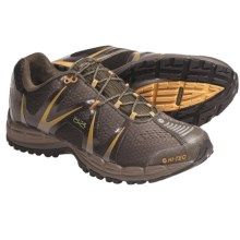 Hi-Tec V-Lite Infinity Trail Running Shoes - Waterproof (For Men) in Olive/Taupe/Burnt Orange - Closeouts
