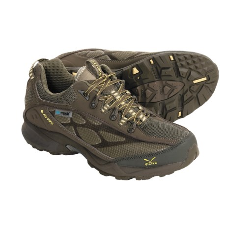 Hi-Tec V-Lite Lightning HPI Trail Shoes - Lightweight (For Women) in Taupe/Olive/Golden Haze