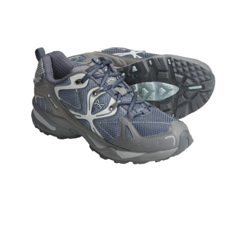 Hi-Tec V-Lite Nighthawk HPI Trail Shoes - Lightweight (For Women) in Flint/Grey/Dawn