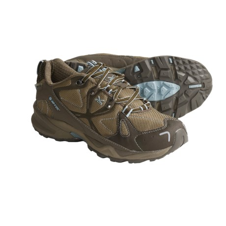 Hi-Tec V-Lite Nighthawk HPI Trail Shoes - Lightweight (For Women) in Mink/Light Taupe/Wedgewood