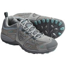 Hi-Tec V-Lite Total Terrain Lace Shoes (For Women) in Hot Grey/Aquamatic - Closeouts