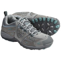 Hi-Tec V-Lite Total Terrain Lace Shoes (For Women) in Hot Grey/Aquamatic