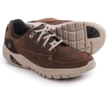 Hi-Tec V-LITE Walk-Lite Tenby Shoes - Leather (For Men) in Chocolate - Closeouts