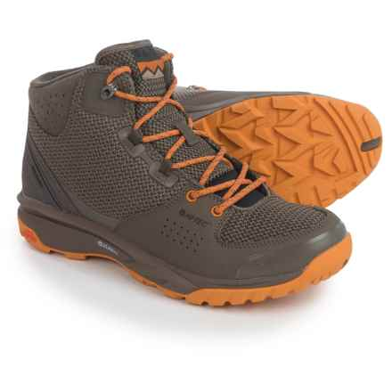 Hi-Tec V-Lite Wild-Life I Hiking Boots (For Men) in Taupe/Lite Taupe/Inca Gold - Closeouts