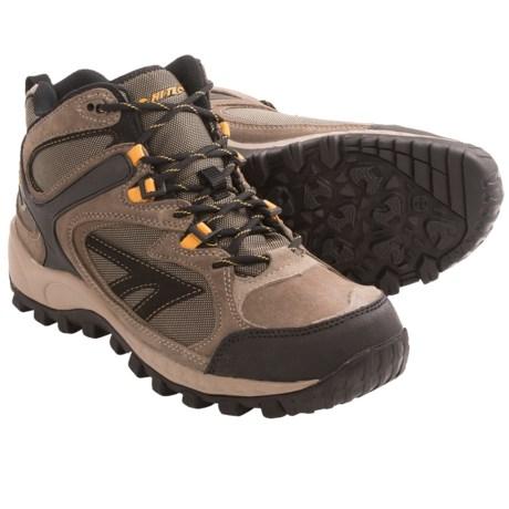 great boots hi tec west ridge mid hiking boots