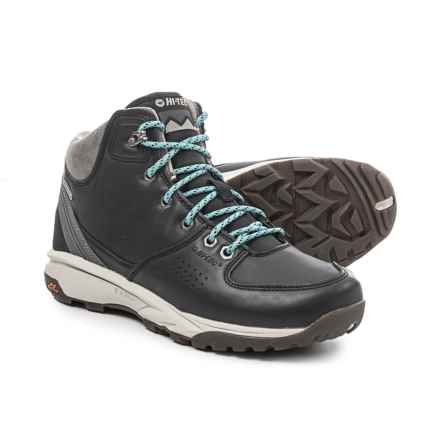 Hi-Tec Wildlife Lux I Hiking Boots - Waterproof (For Women) in Black - Closeouts
