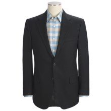 Hickey Freeman Basket Weave Sport Coat - Lambswool-Cashmere (For Men) in Black - Closeouts