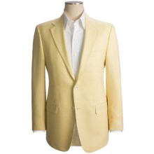 Hickey Freeman Basket Weave Sport Coat - Lambswool-Cashmere (For Men) in Tan - Closeouts