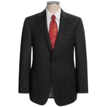 Hickey Freeman Beaded Stripe Suit - Worsted Wool (For Men) in Black - Closeouts