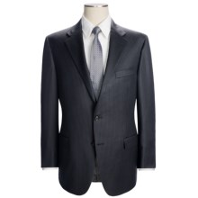 Hickey Freeman Beaded Track Stripe Suit - Worsted Wool (For Men) in Navy - Closeouts
