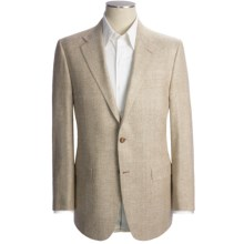Hickey Freeman Birdseye Sport Coat - Silk (For Men) in Tan - Closeouts