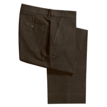 Hickey Freeman Cotton Piping Pants (For Men) in Brown - Closeouts