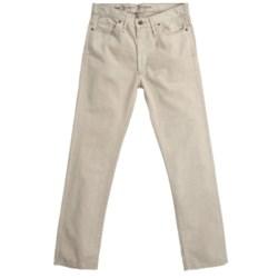 Hickey Freeman Denim Pants (For Men) in Sepia