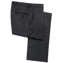 Hickey Freeman Dress Pants - Worsted Wool (For Men) in Charcoal - Closeouts