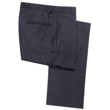 Hickey Freeman Dress Pants - Worsted Wool (For Men) in Navy - Closeouts