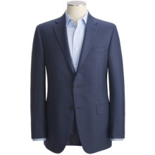 Hickey Freeman Fancy Sport Coat - Silk-Worsted Wool (For Men) in Navy - Closeouts