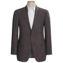 Hickey Freeman Fancy Sport Coat - Wool-Silk (For Men) in Brown/Blue - Closeouts