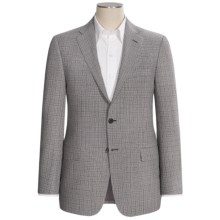 Hickey Freeman Fancy Wool Sport Coat - B-Body Series (For Men) in Black/White - Closeouts