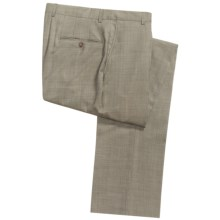 Hickey Freeman Gabardine Dress Pants - Worsted Wool (For Men) in Taupe - Closeouts