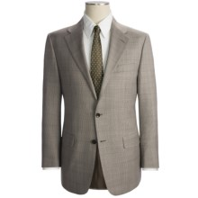 Hickey Freeman Glen Plaid Suit - Wool (For Men) in Light Brown - Closeouts
