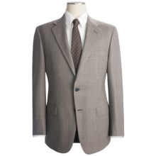 Hickey Freeman Glen Plaid Suit - Wool (For Men) in Med Grey - Closeouts
