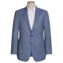 Hickey Freeman Herringbone Sport Coat - Cashmere-Silk, B-Body (For Men) in Blue - Closeouts