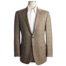 Hickey Freeman Herringbone Sport Coat - Worsted Wool (For Men) in Med Brown - Closeouts