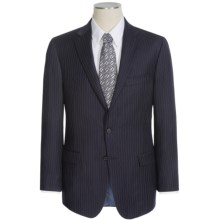 Hickey Freeman Medium Stripe Suit - Wool (For Men) in Navy - Closeouts