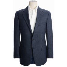 Hickey Freeman Mini Check Sport Coat - Wool (For Men) in Blue - Closeouts