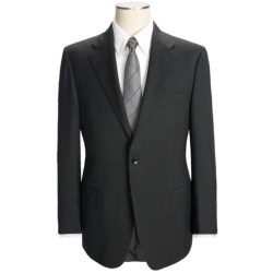 Hickey Freeman Mini-Check Suit - Worsted Wool (For Men) in Charcoal