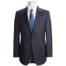 Hickey Freeman Multi-Beaded Stripe Suit - Worsted Wool (For Men) in Blue/Navy - Closeouts