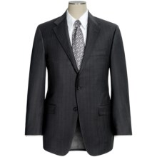 Hickey Freeman Multi-Stripe Suit - Wool (For Men) in Charcoal/Blue - Closeouts