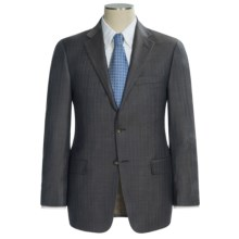 Hickey Freeman Multi-Stripe Suit - Wool (For Men) in Charcoal/Brown - Closeouts