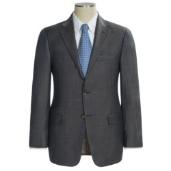 Hickey Freeman Multi-Stripe Suit - Wool (For Men) in Charcoal/Brown