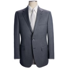 Hickey Freeman Multi Stripe Suit - Worsted Wool (For Men) in Light Grey - Closeouts