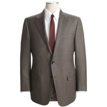 Hickey Freeman Nailhead Suit - Lindsey Model, Worsted Wool (For Men) in Brown/Black - Closeouts