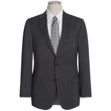 Hickey Freeman Narrow Multi-Stripe Suit - Wool (For Men) in Charcoal - Closeouts