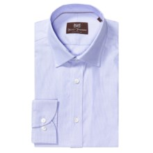 Hickey Freeman Oxford Cotton Dress Shirt - Long Sleeve (For Men) in Light Blue - Closeouts