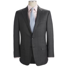 Hickey Freeman Pin Dot and Tonal Plaid Suit - Worsted Wool (For Men) in Charcoal - Closeouts