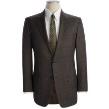 Hickey Freeman Pin Dot Suit - Wool (For Men) in Charcoal/Brown - Closeouts
