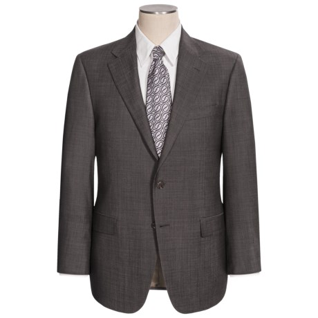 Hickey Freeman Pin Dot Suit - Wool (For Men) in Charcoal