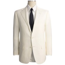 Hickey Freeman Pinstripe Suit - Wool-Linen (For Men) in Cream - Closeouts