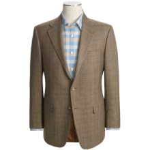 Hickey Freeman Plaid Sport Coat (For Men) in Dark Tan - Closeouts