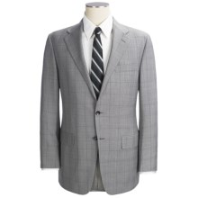 Hickey Freeman Plaid Suit - Worsted Wool (For Men) in Grey - Closeouts
